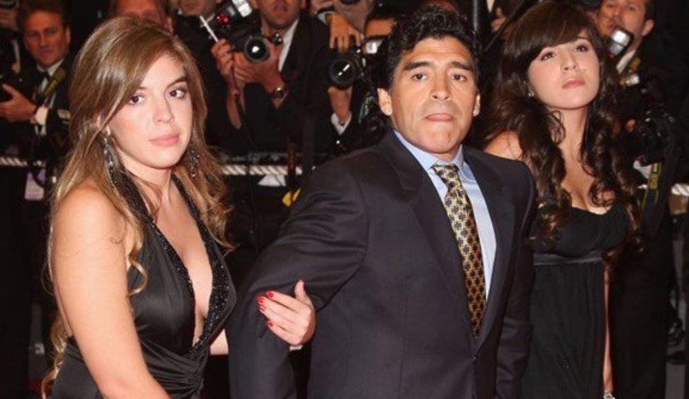 """Maradona'dan kızına: """"Ona hiçbir şey bırakmayacağım"""""""