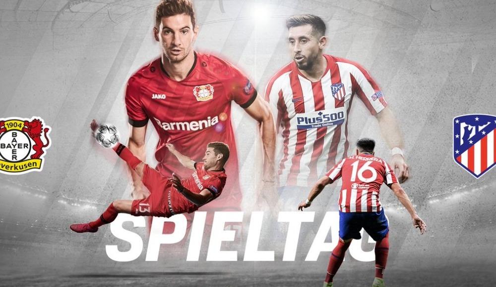 Bayer Leverkusen - Atletico Madrid (Canlı Skor)