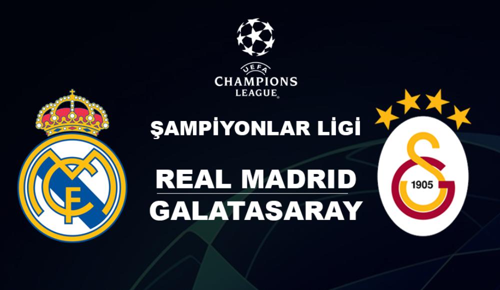 Real Madrid - Galatasaray (Canlı Skor)