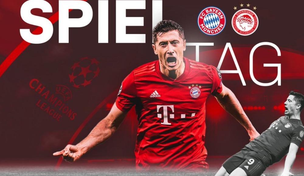 Bayern Münih - Olympiakos (Canlı Skor)