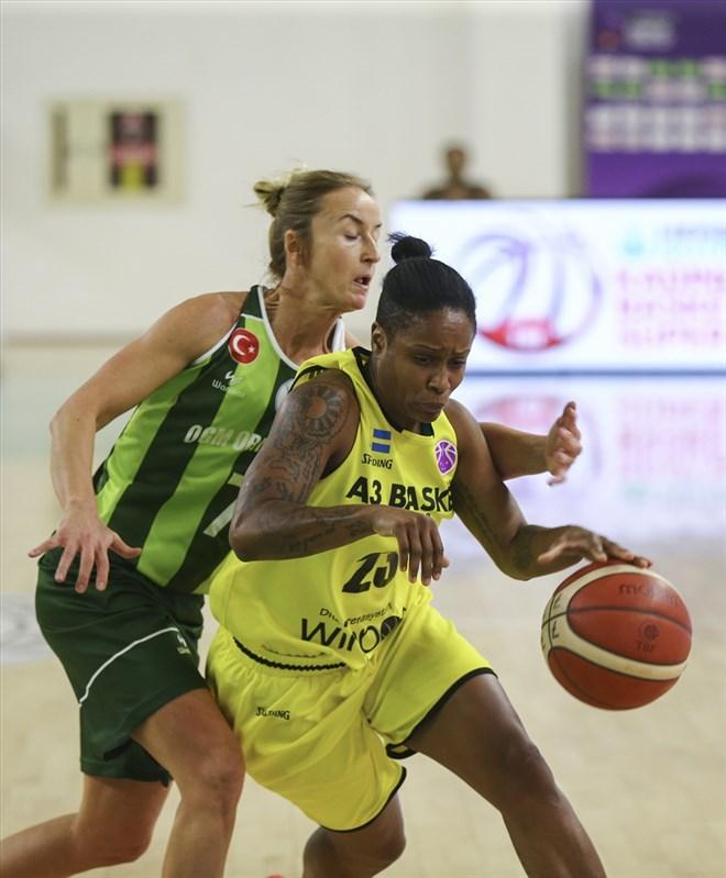 OGM Ormanspor, İsveç temsilcisi A3 Basket'i 99-59 mağlup etti