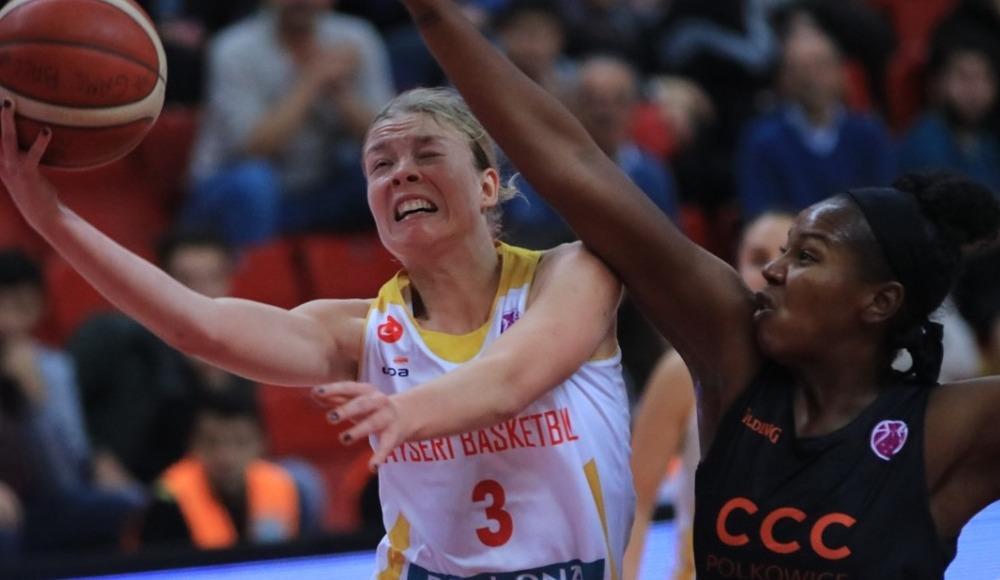 Kayseri Basketbol, CCC Polkowice'ye 69-54 mağlup oldu
