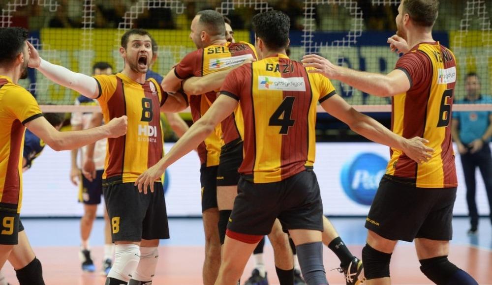 Derbide kazanan Galatasaray Doğa Sigorta! 0-3
