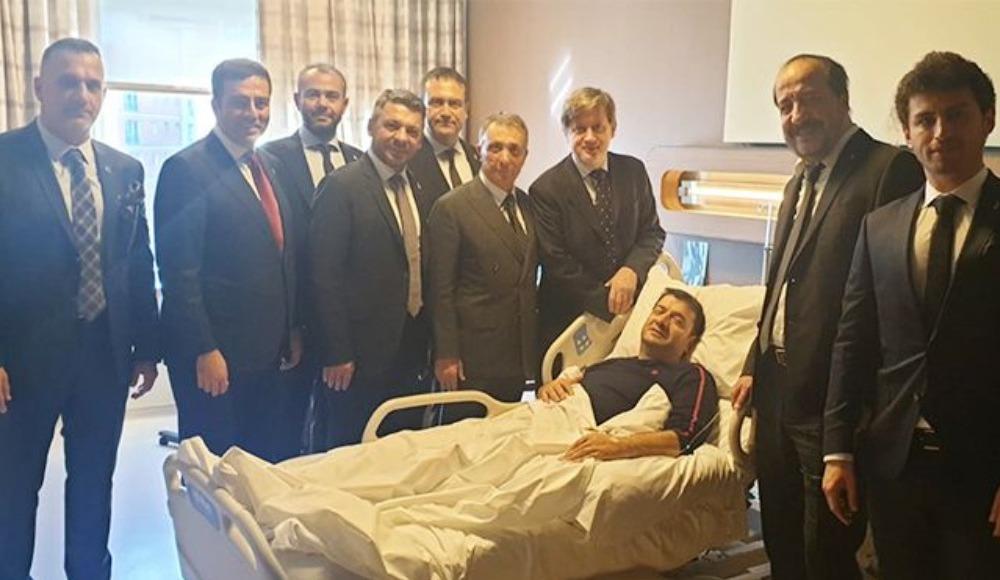 Beşiktaş Başkanı Çebi'den Torunoğulları'na ziyaret