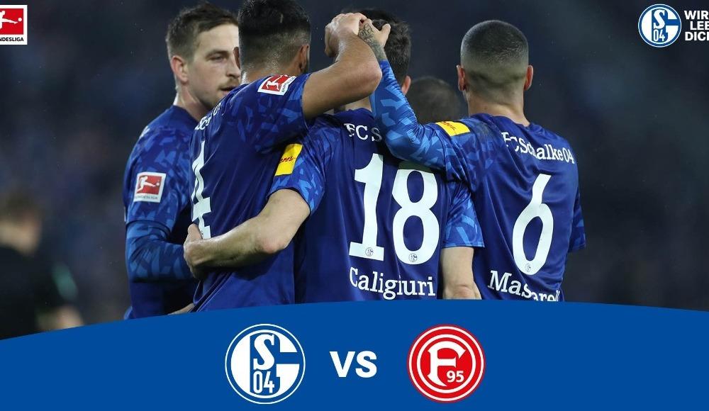 Schalke 04 - Fortuna Düsseldorf (Canlı Skor)