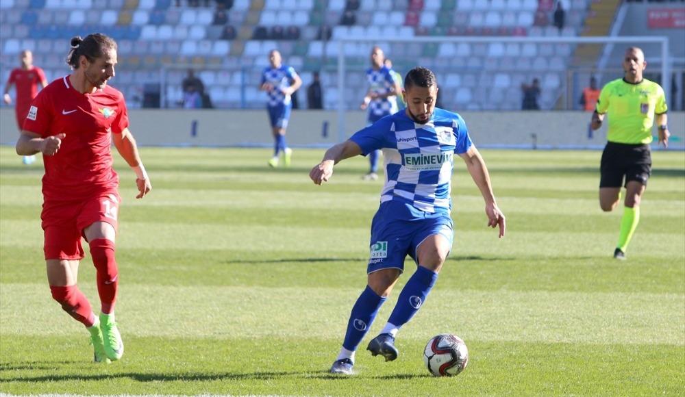 BB Erzurumspor ile Akhisarspor puanları paylaştı