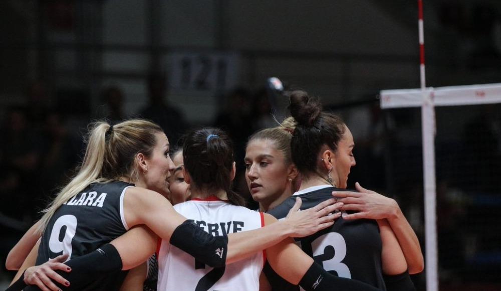 Türk Hava Yolları, Beşiktaş'ı 3-0 yendi