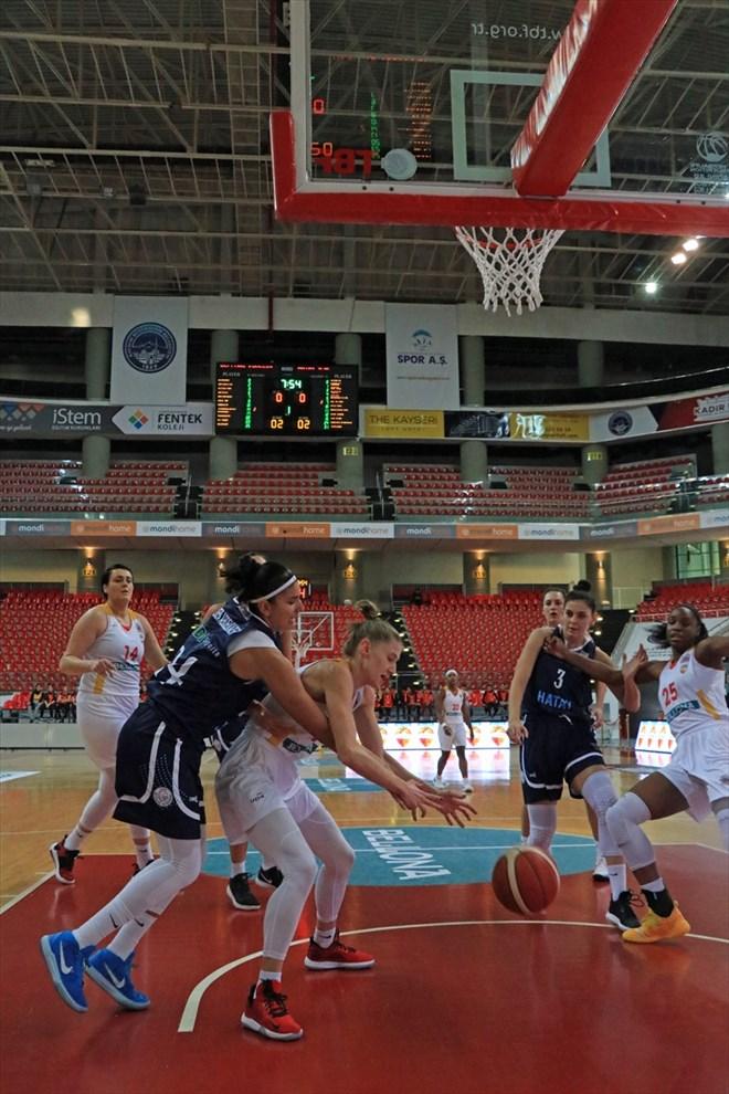 Kayseri Basketbol, Hatay Büyükşehir Belediyespor'u yendi