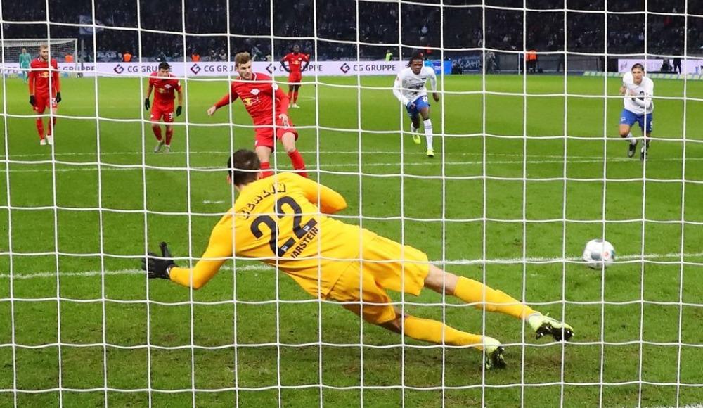 Leipzig deplasmanda 4 golle kazandı