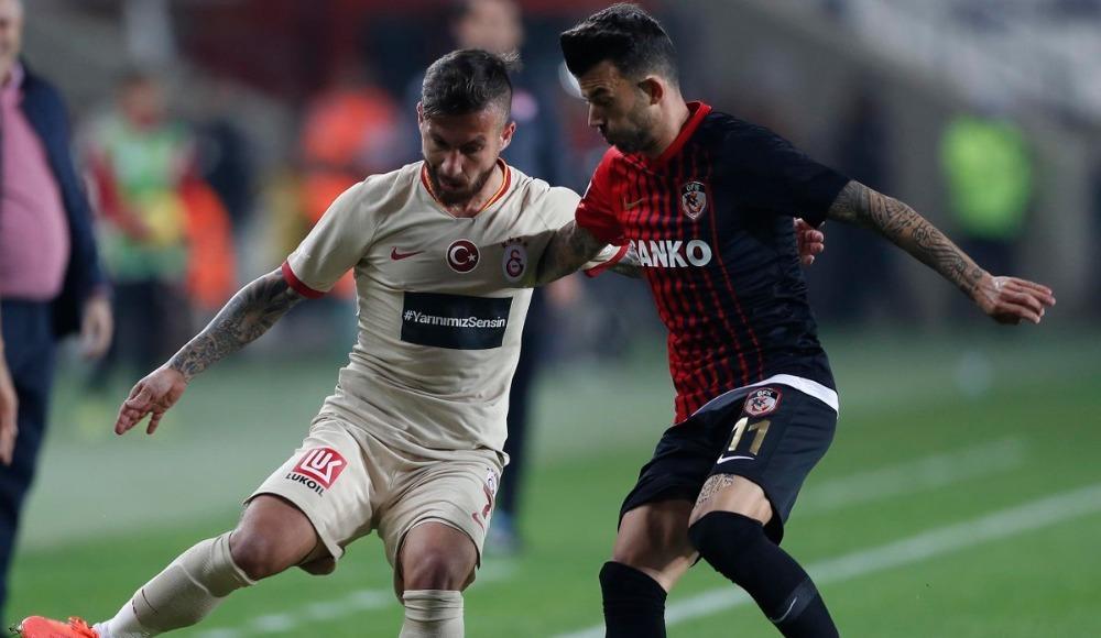 Galatasaray - Gaziantep FK maçı iptal