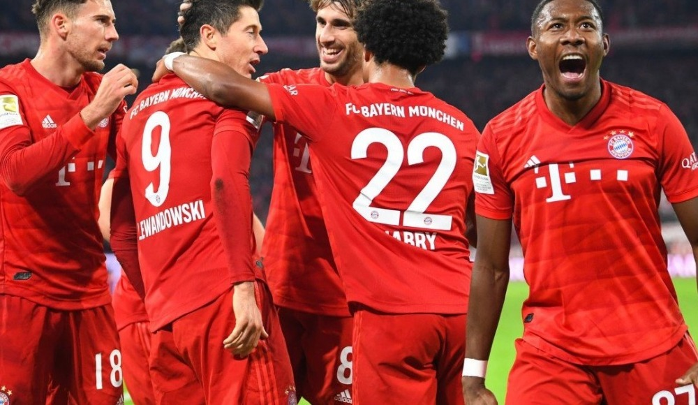 Bayern Münih, Dortmund'u farka boğdu