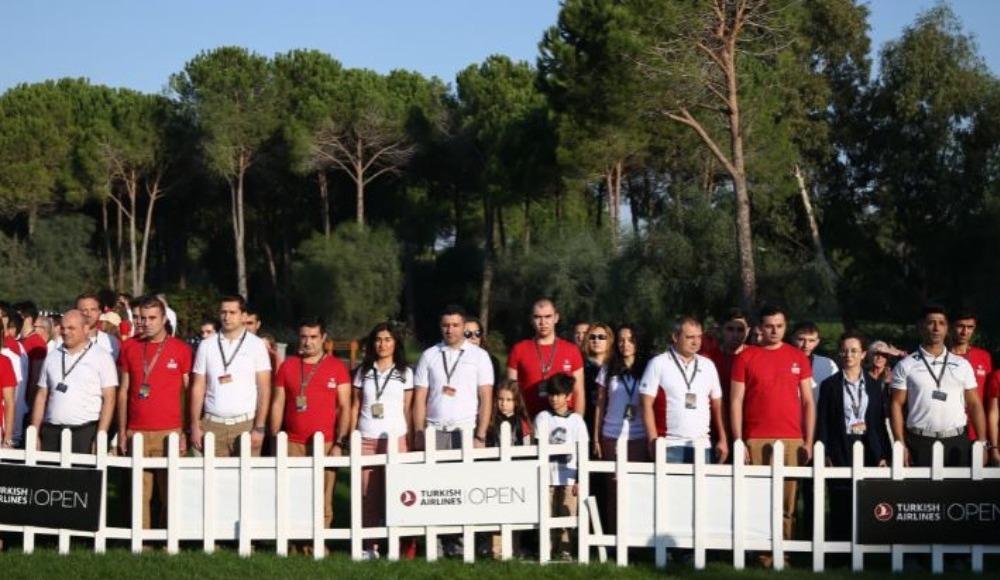 Dünyaca ünlü golfçüler Atatürk'ü andı