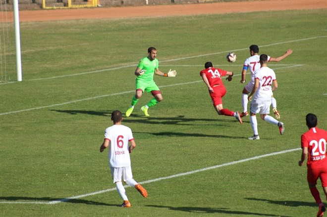 Tokatspor, sahasında Çankaya Futbol Kulübü'ne 1-0 mağlup oldu