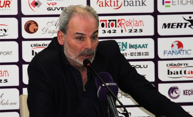 """İpekoğlu: """"Maalesef puanı hak edecek bir oyun ortaya koyamadık"""""""