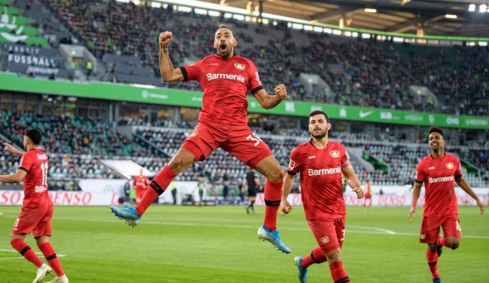 Bayer Leverkusen, Wolfsburg'u deplasmanda 2-0 yendi