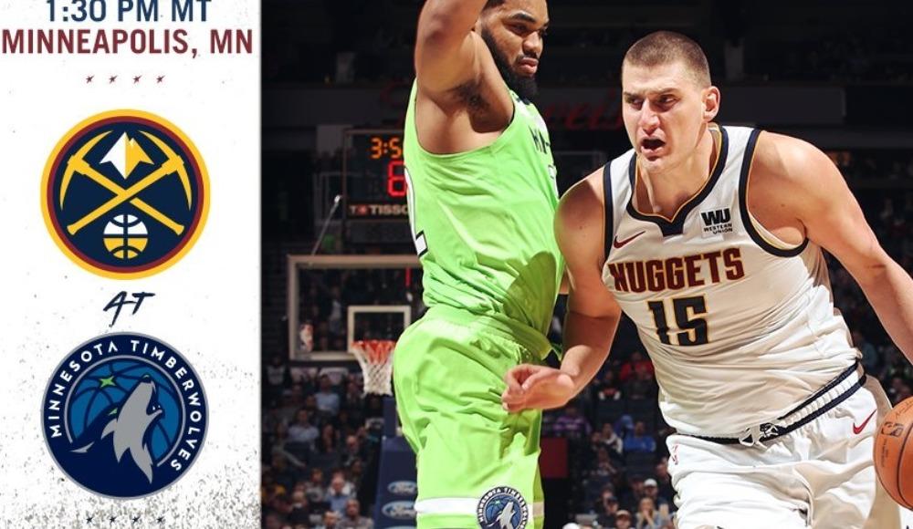 Minnesota Timberwolves - Denver Nuggets (Canlı Skor)