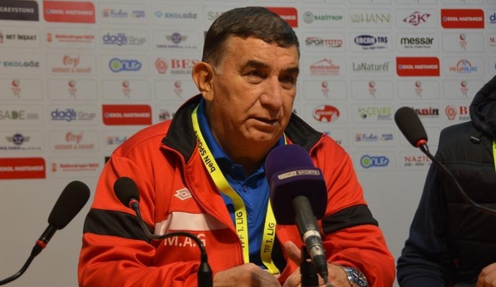 """Mustafa Ati Göksu: """"Futbol açısından iki takım da iyi mücadele etti"""""""