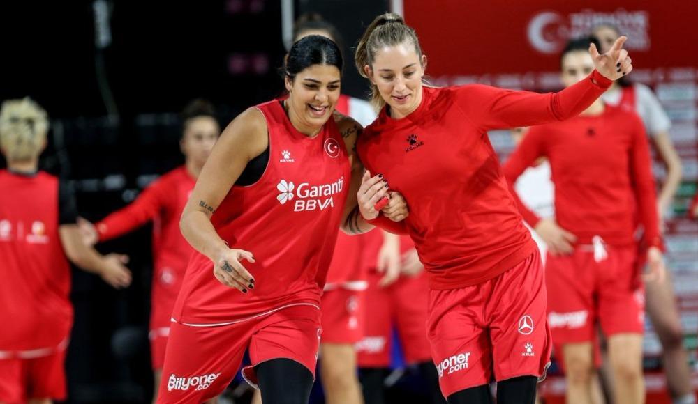 Türkiye, Sırbistan ve Litvanya maçlarının hazırlıklarına başladı
