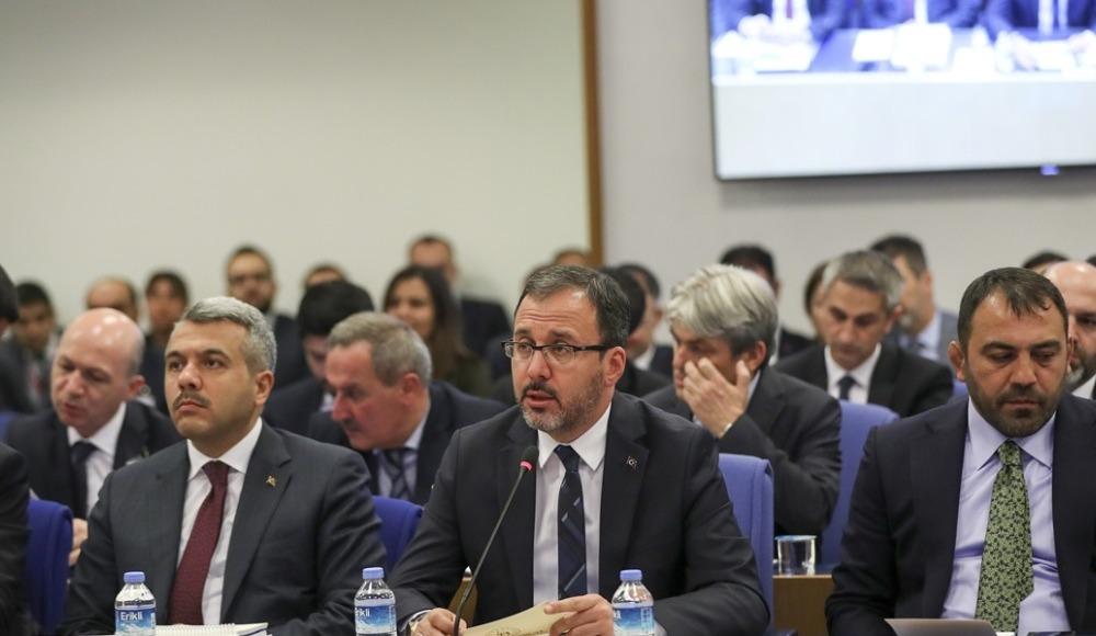 """Mehmet Muharrem Kasapoğlu: """"40 bin öğrencinin sportif yetenek taraması yapıldı"""""""