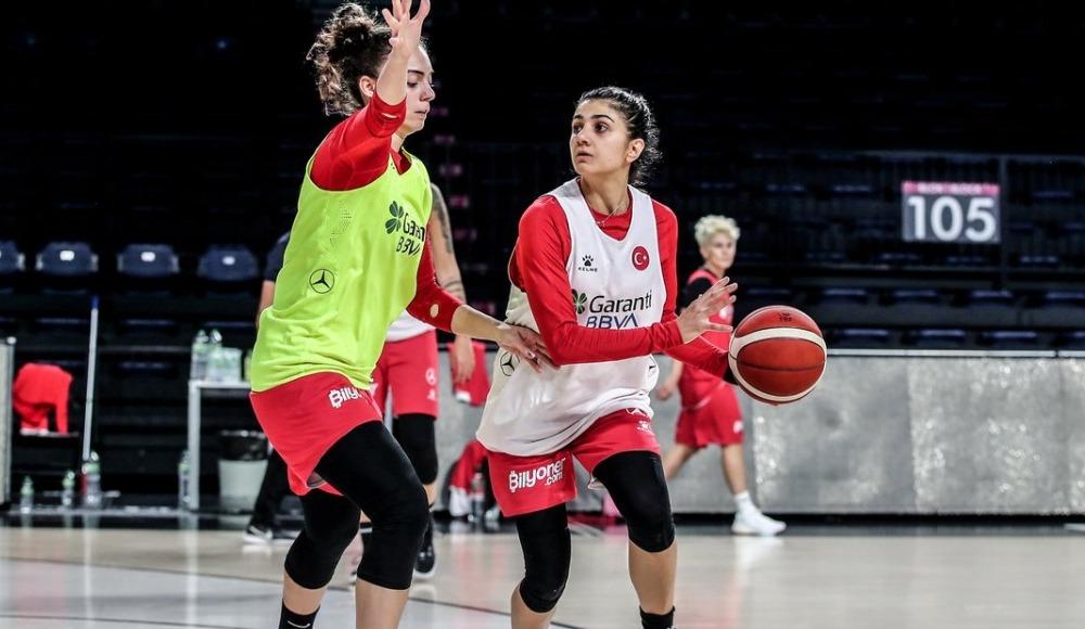 A Milli Kadın Basketbol Takımı, yarın TSİ 19.00'da Sırbistan'a konuk olacak