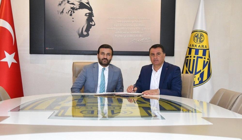 Ankaragücü Mustafa Kaplan ile anlaştı