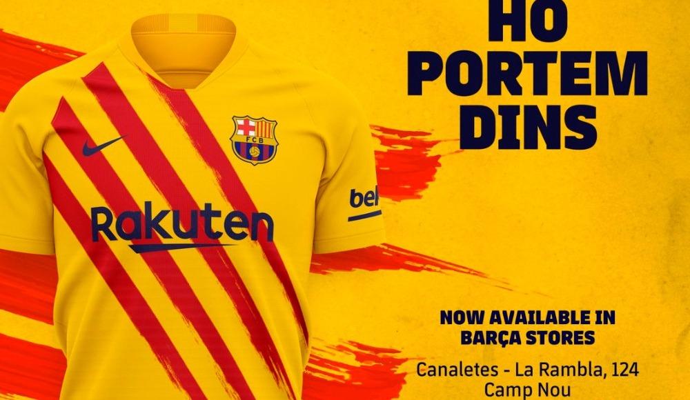 Barcelona yeni formasını tanıttı!