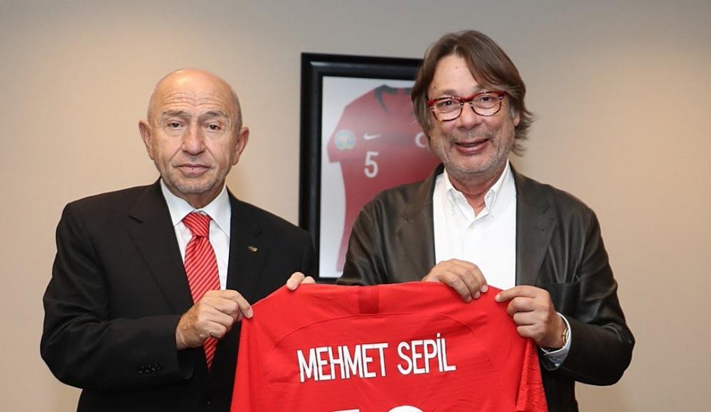 Kulüpler Birliği Başkanı Mehmet Sepil'den Nihat Özdemir'e ziyaret