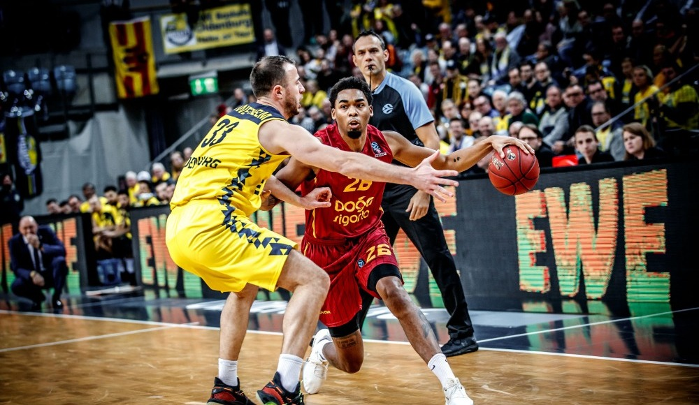 Galatasaray Doğa Sigorta, EWE Basket'e mağlup oldu!