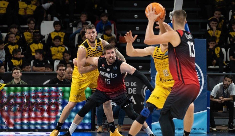 Gaziantep Basketbol iki sayıyla kaybetti!