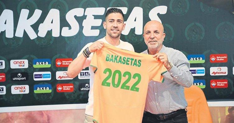 Yunan basını Bakasetas'ın Beşiktaş'ın gündeminde olduğunu yazdı