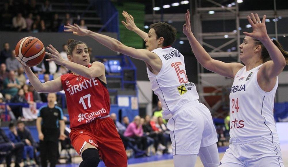 A Milli Kadın Basketbol takımı ilk maçını kaybetti!