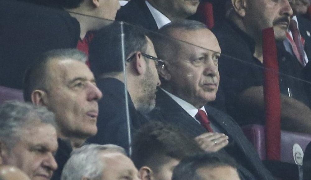 """Cumhurbaşkanı Erdoğan: """"Çok genç ve dinamik takımımız var"""""""
