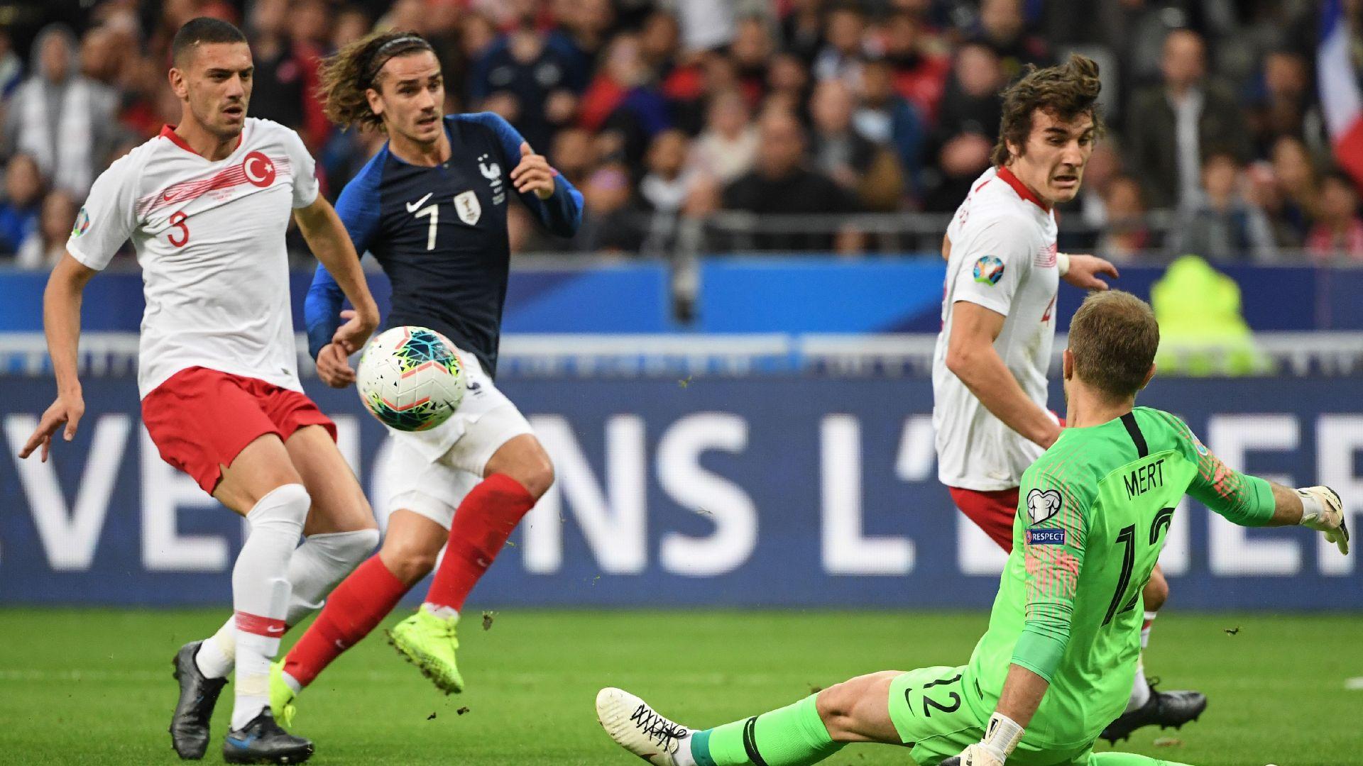 A Milli Takım Euro 2020 elemelerinde o istatistikte en iyi takım..