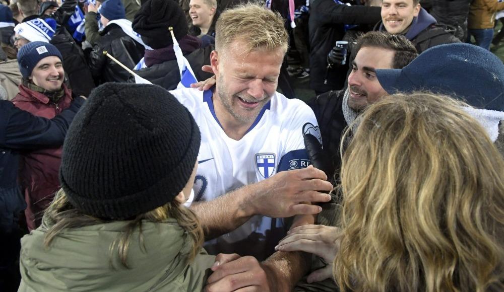 Finlandiya, EURO 2020'de! Tarihinde ilk kez...