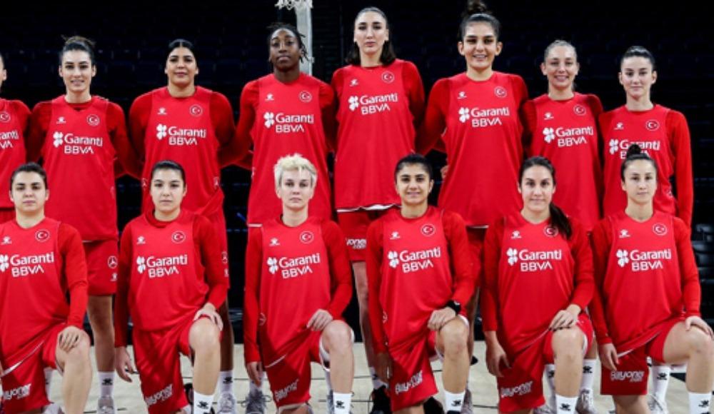 A Milli Kadın Basketbol Takımı'nın konuğu Litvanya