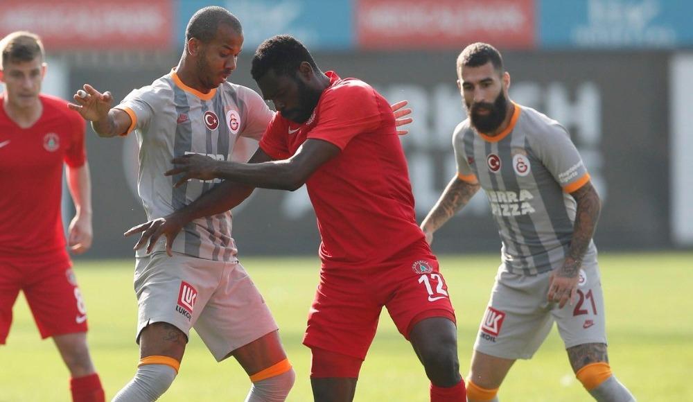Galatasaray, Ümraniyespor'u 4-0 mağlup etti