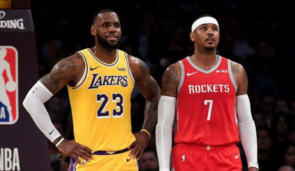 "LeBron James: ""Carmelo Anthony bu lige ait"""