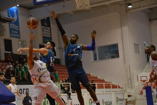 Balıkesir Büyükşehir Belediyespor'u 92-75'lik skorla mağlup etti