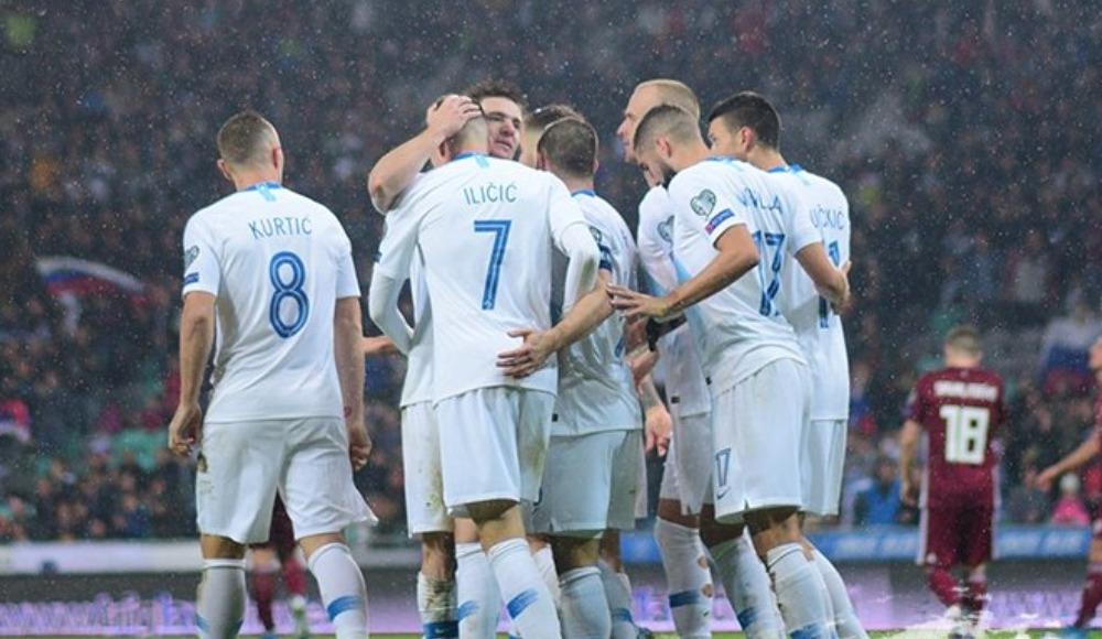 Slovenya tek golle kazandı! 1-0