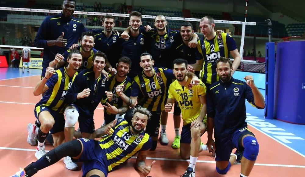 Fenerbahçe HDI Sigorta, Ziraat Bankası'nı 3-0 mağlup etti