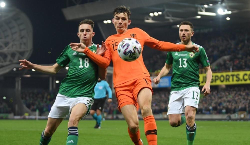 Kuzey İrlanda - Hollanda maçında gol sesi çıkmadı!