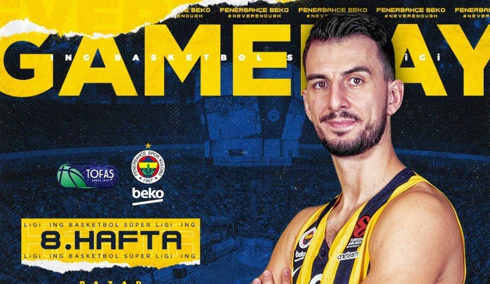 TOFAŞ - Fenerbahçe Beko (Canlı Skor)