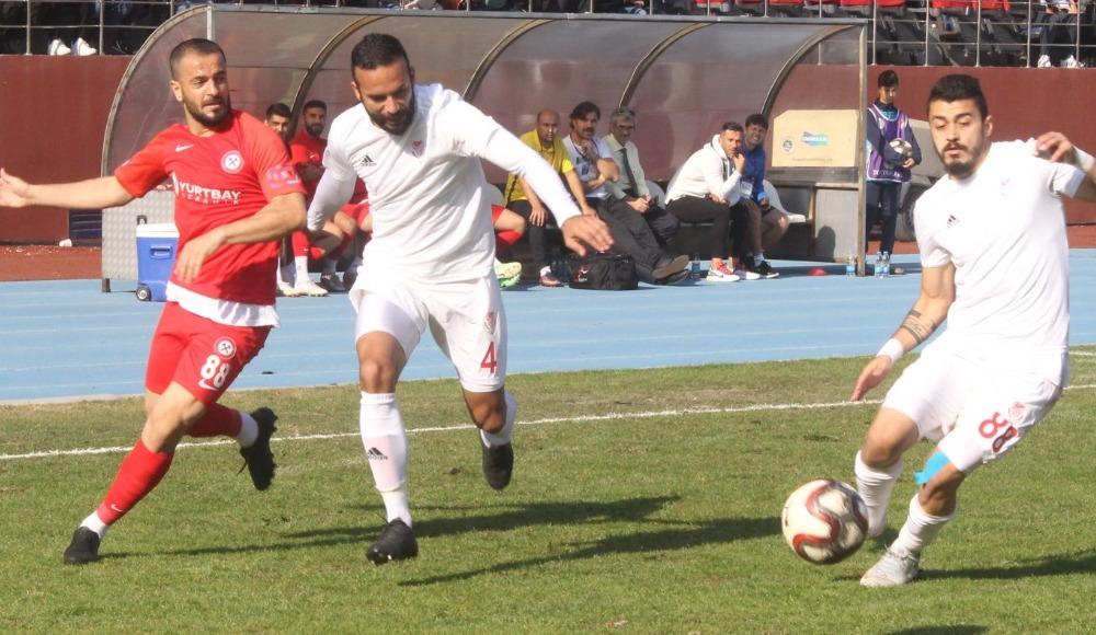 Gümüşhanespor, Kömürspor'u mağlup etti