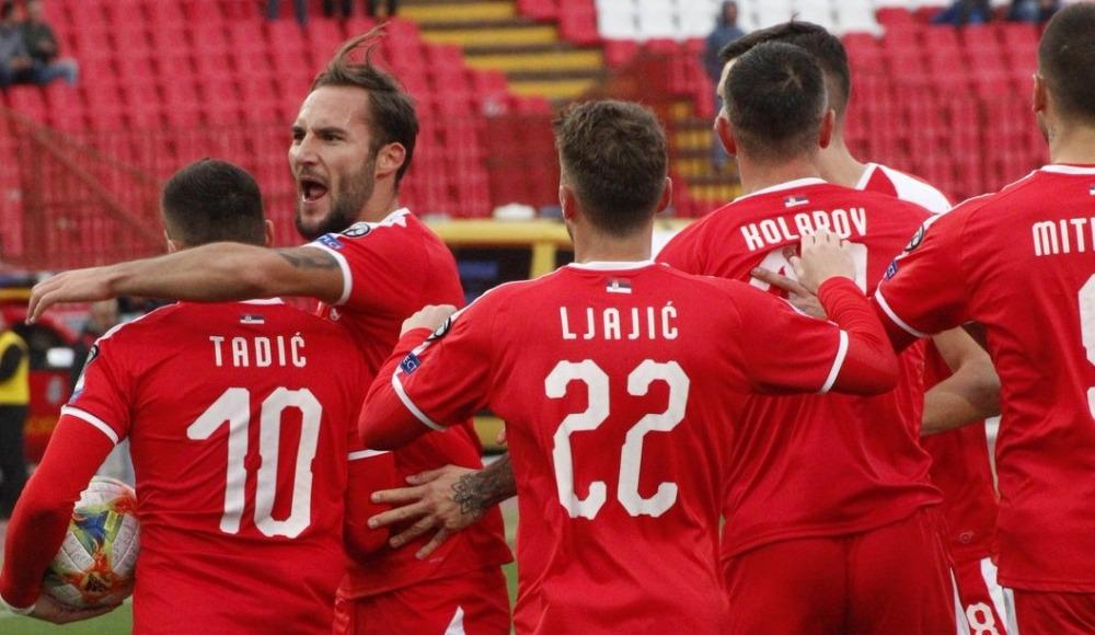 Sırbistan, EURO 2020'yi son maçta kaçırdı