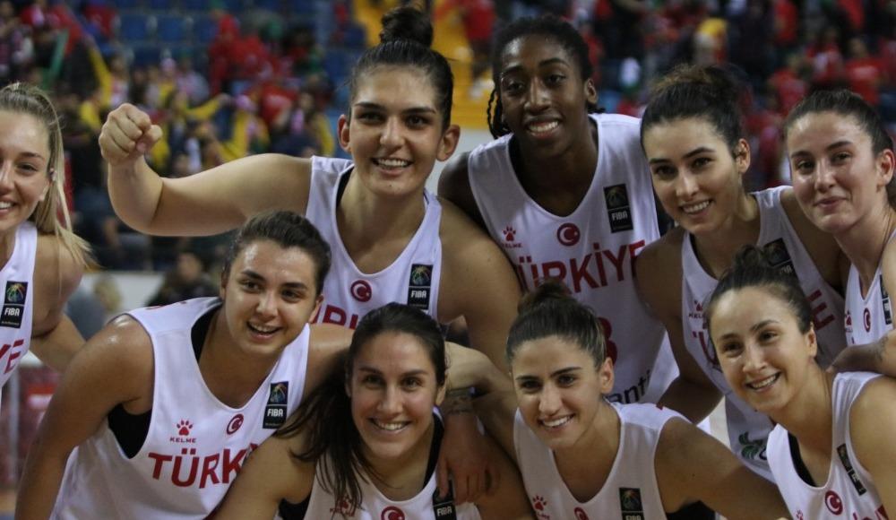 A Milli Kadın Basketbol Takımı, Litvanya'yı 74-51 mağlup etti