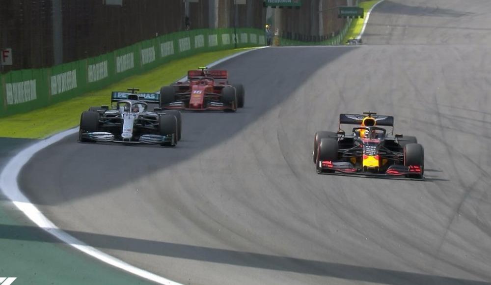 Tarihi Brezilya Grand Prix'sini kazanan Max Verstappen!