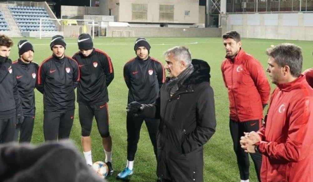 Ümit Milli Takım Andorra maçı hazırlıklarını tamamladı