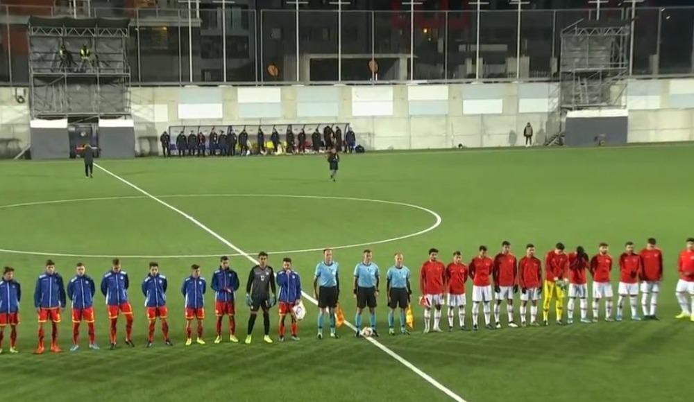 Türkiye Andorra'ya deplasmanda kaybetti