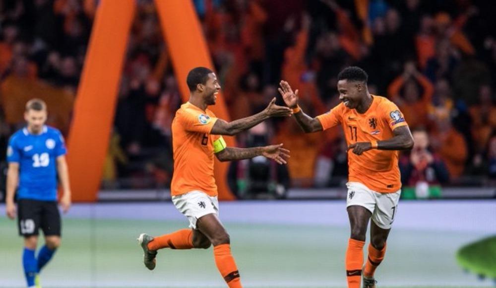Hollanda farklı kazandı!