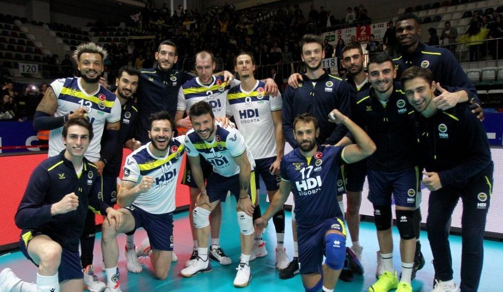 Fenerbahçe HDI Sigorta, deplasmanda Spor Toto'yu 3-2 mağlup etti